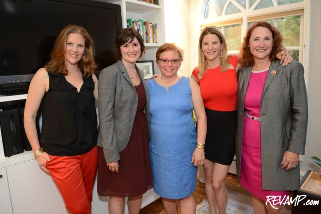 Sandra Fluke, Rep. Elizabeth Esty Speak At &#039;Cocktails For A Cause&#039; Reception